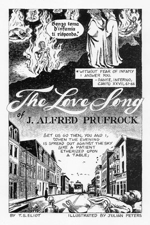 The Love Song Of J. Alfred Prufrock (Il canto d'amore di J. Alfred Prufrock, 1910/1911), di Thomas Stearns Eliot