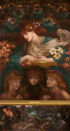 Dante Gabriel Rossetti, The Blessed Damozel (1878)
