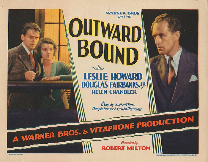 OUTWARD BOUND (US, 1930), regia di Robert Milton