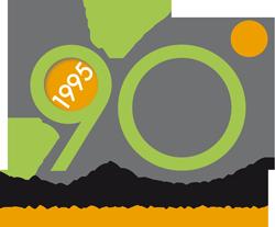 Logotipo 90 anni DLF