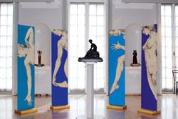 LUNA ROSSA. Silvia Rastelli alle Raccolte Frugone. Genova, Musei di Nervi - Raccolte Frugone, fino al 30 novembre 2014
