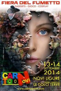 Cartoonovi. Fiera-mercato del fumetto e di tutto l'universo che lo circonda. Novi Ligure (AL), 13-14 settembre 2014